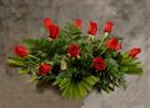 Rosas rojas Nuevo Tanatorio - Funeraria Blay